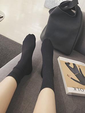 ミンス、靴下