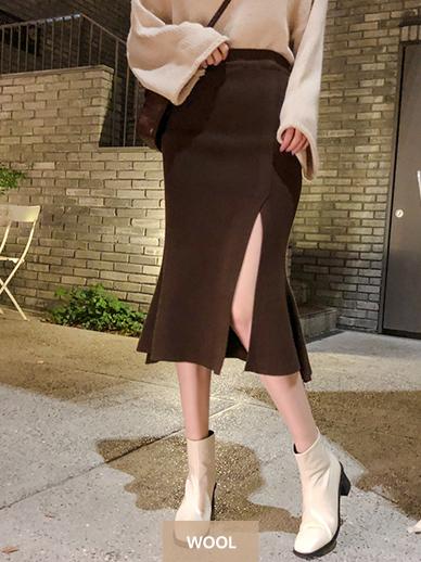 マーメイドひらき、スカート